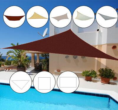 Outsunny Sonnensegel Sonnendach Sonnenschutz Schattenspender 3 Formen 5 Farben 2