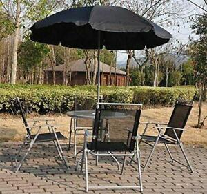 Bistro Set 6pc Outdoor Furniture Patio Aluminum 4 chairs / table / Patio Furniture for sale
