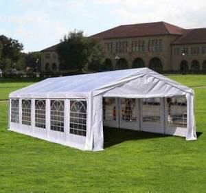 Event Tent for Catering 32'x16' - White