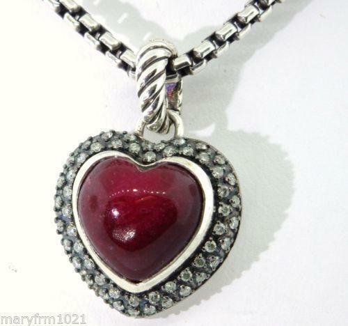 David Yurman Heart Pendant Ebay