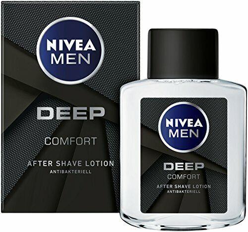 1 x 100ml Nivea Men Deep Comfort, After Shave Lotion, Antibakteriell, 1er Pack