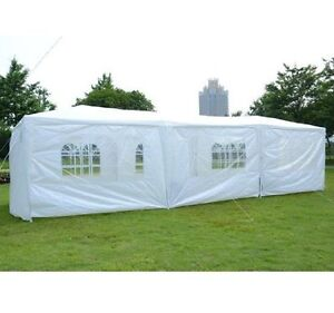 BRAND NEW - 10x30ft Party Tent 8 Removable Sidewalls