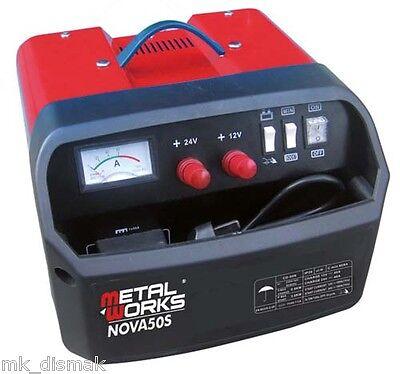Metalworks nova 50S Cargador arrancador de baterías  alta potencia 12v / 24 v , usado segunda mano  El Guix