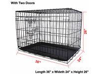 Wire Folding Pet (Dog, Cat) Crate