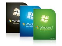 Windows 7, 8.1, 10 USB installer 32&64 bit all versions on USB flash drive