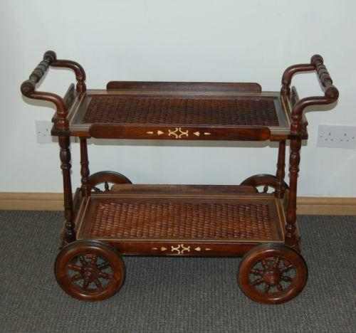 Wooden Tea Trolley Ebay
