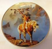 Franklin Mint Indian Plates