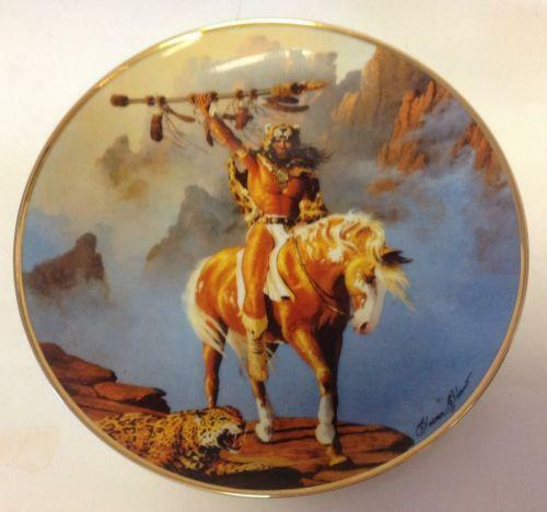 Indian Smoke Shop >> Franklin Mint Indian Plates | eBay