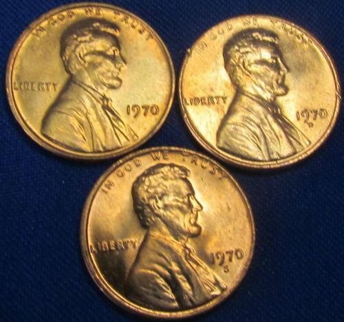 1970 D Lincoln Cent Ebay
