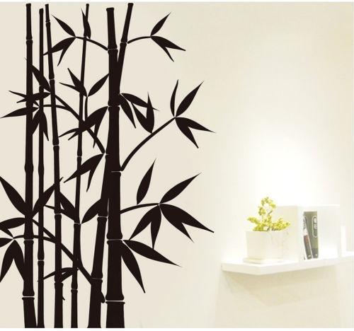 Bamboo Wall Decal Ebay
