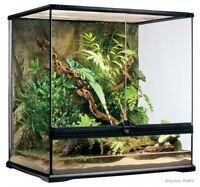 NEED GONE!! Reptile exo terra 24x18x24 terrarium 150$OBO!
