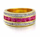 Gold Filled Ruby Fashion Rings