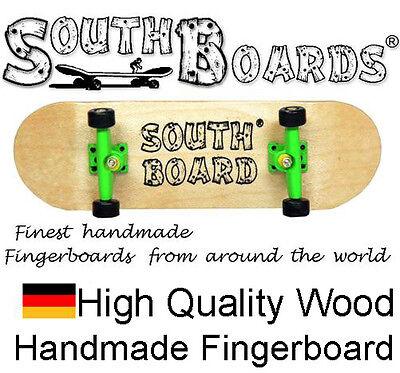 Komplett Fingerskateboard N/GR/SWZ - SOUTHBOARDS® Handmade Wood Fingerboard Holz