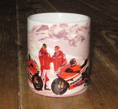 Valentino Rossi Ducati Nicky Hayden MotoGP Bike MUG