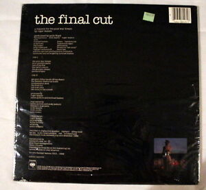 Pink Floyd *The Final Cut* 1983 QC38243 Canada 1st Press Sealed Stratford Kitchener Area image 2