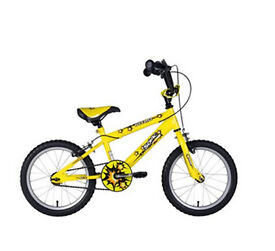 Kids Sonic Nitro BMX Bike for Sale - Good condition, hardly used, some rust spots - £45 - RRP £70