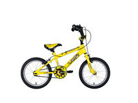 Sonic Nitro Junior Boys BMX Bike - Bright Yellow, 16 Inch - RRP £94.99 - £60
