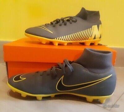 Scarpini Nike Mercurial Superfly & club fg/mc.Colore grigio/giallo.