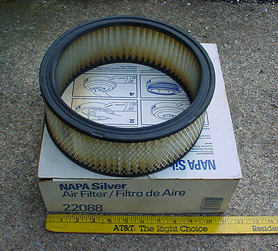 new NAPA SILVER AIR FILTER 22088 CHEVY GMC PONTIAC JEEP