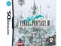 Final Fantasy III for Nintendo DS
