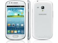 Samsung Galaxy S3 White excellent condition Unlocked with accessories