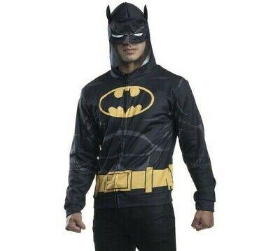 Adult Batman Costume Hoodie Costume Mens jacket Size 34-40 NIP - Wall-e Adult Costume