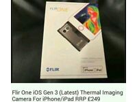 Flir one thermal imaging camera