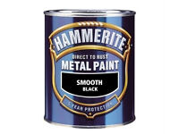HAMMERITE Direct To Rust Metal Paint Various Colours Finish and Volume