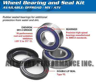 ARCTIC CAT 375 2x4 w/AT 2002 FRONT WHEEL BEARINGS & SEALS 2 KITS