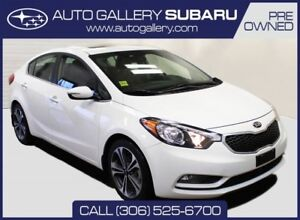 2016 Kia Forte SX | LEATHER | NAVIGATION | HEATED & COOLED SEATS