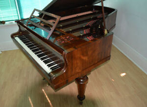 Price Reduced! Rosewood Grand Piano - Free Tuning & Moving