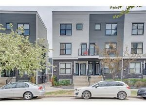 for RENT July 1st: Stylish inner city 2BRDM/1BATH townhouse