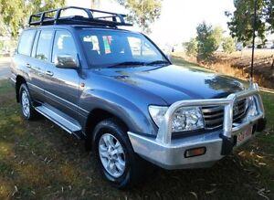 2006 Toyota Landcruiser HDJ100R GXL Grey 5 Speed Automatic Wagon Hidden Valley Darwin City Preview
