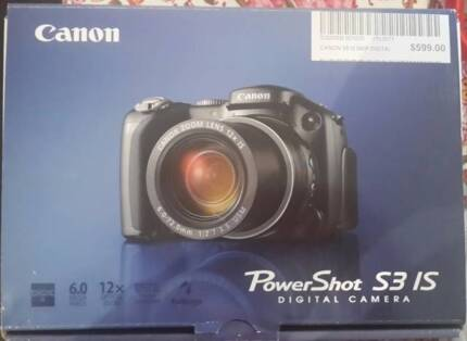 Canon PowerShot S3 IS Durack Palmerston Area Preview
