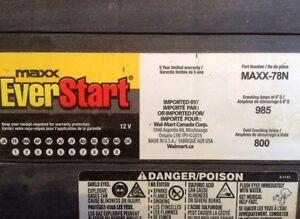 MAXX  EVERSTART  5  YEAR  BATTERY  FOR  SALE