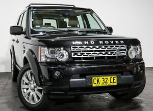2013 Land Rover Discovery 4 Series 4 L319 MY13 TDV6 Black 8 Speed Sports Automatic Wagon Rozelle Leichhardt Area Preview