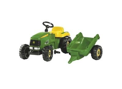 John Deere Rollykid Ride On Tractor With Trailer Gift (John Deere Ride On Tractor With Trailer)