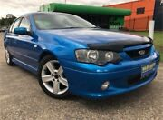 2004 Ford Falcon BA XR6 Blue 4 Speed Auto Seq Sportshift Sedan Slacks Creek Logan Area Preview
