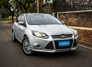 2011 Ford Focus LW Sport PwrShift Silver 6 Speed Sports Automatic Dual Clutch Hatchback Medindie Walkerville Area Preview
