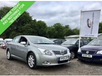 2009 09 TOYOTA AVENSIS 1.8 TR VALVEMATIC 4D 145 BHP