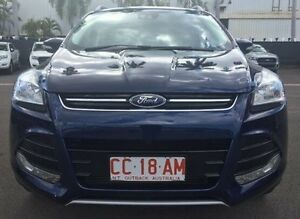 2013 Ford Kuga TF Trend PwrShift AWD Blue 6 Speed Sports Automatic Dual Clutch Wagon Berrimah Darwin City Preview