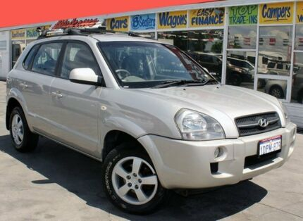 2007 Hyundai Tucson City 4 Speed Auto Selectronic Wagon Cannington Canning Area Preview