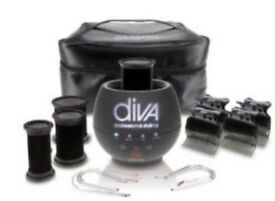Diva heated hair rollers - hot pod & complete set £55 BARGAIN AS NEARLY BRAND NEW - cost £143 NEW