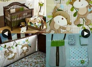 Crib bedding set - Unisex - Jungle Gatineau Ottawa / Gatineau Area image 3