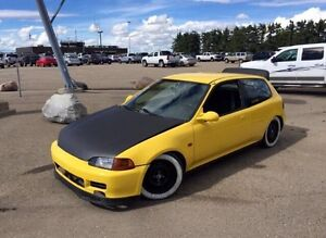 1993 Civic EG Hatch B18C1 swap