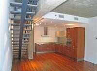 Spectacular condo on 2 floors, GARAGE, Square Victoria, Downtown