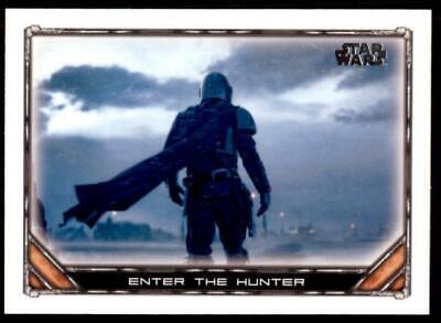 2020 Star Wars The Mandalorian Season 1 Base #1 Enter the Hunter