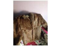 Vintage real fur jacket
