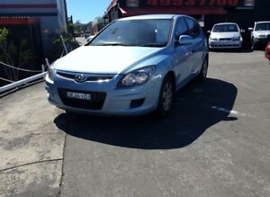 2011 Hyundai i30 FD MY11 SX Blue 4 Speed Automatic Hatchback Cardiff Lake Macquarie Area Preview