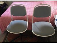 Ikea swivel chairs in excellent condition